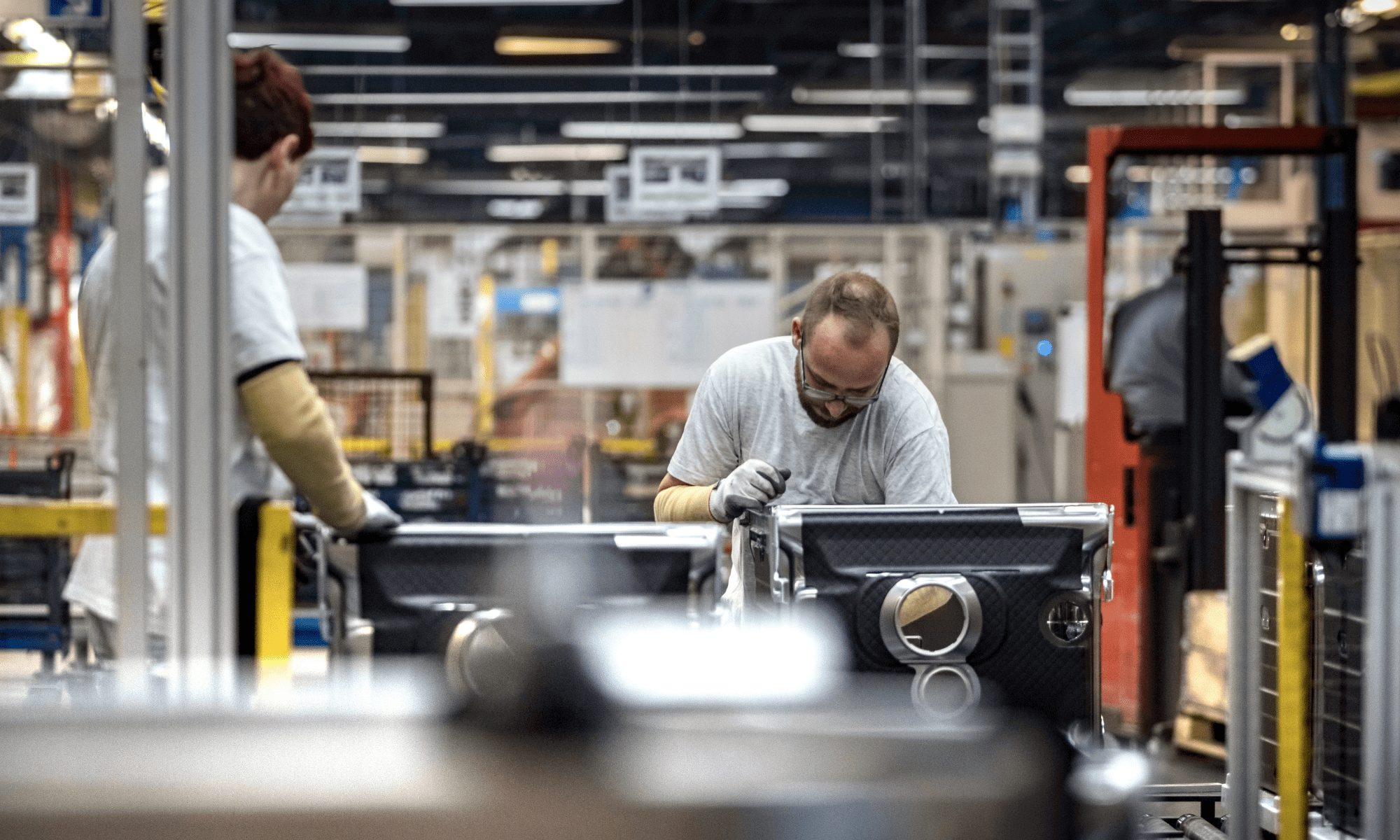 Consumer appliance parts manufacturing Automation